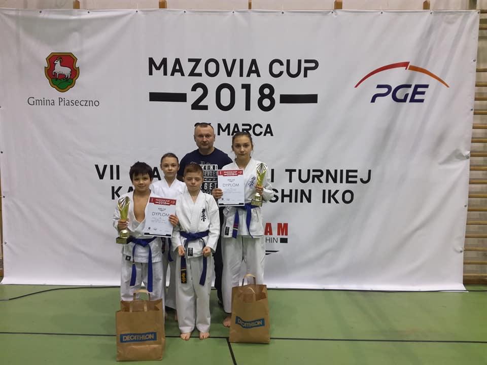 VII Mazovia Cup wracamy z dwoma złotymi pucharami Patrycji Mielniczuk i Fabiana Nafalskiego